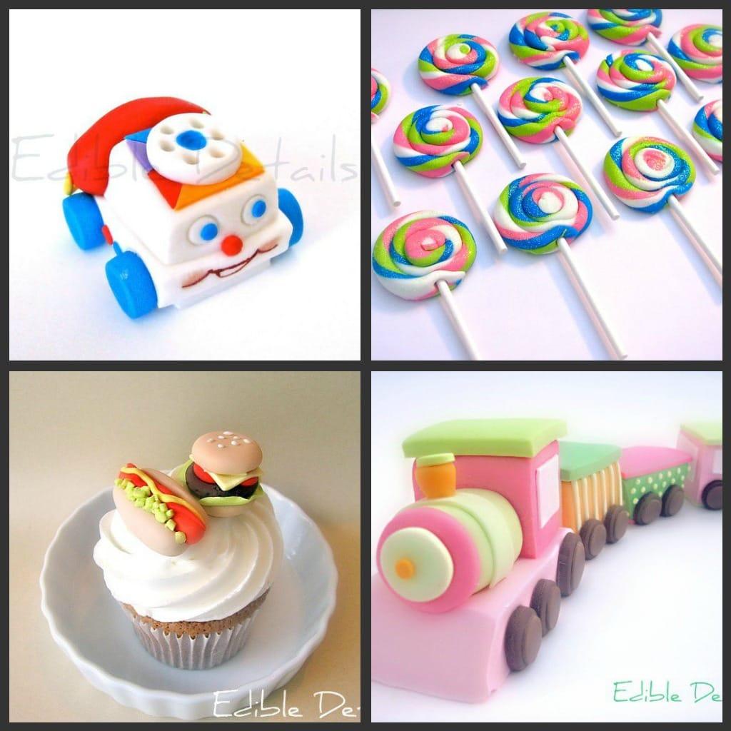 Amazing Fondant Toppers on { lilluna.com } Super adorable and so many cute designs!