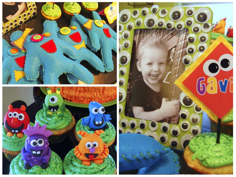 Monster Party + Monster Tutorial including lots of ideas and tutorials to have the perfect monster party!! { lilluna.com }