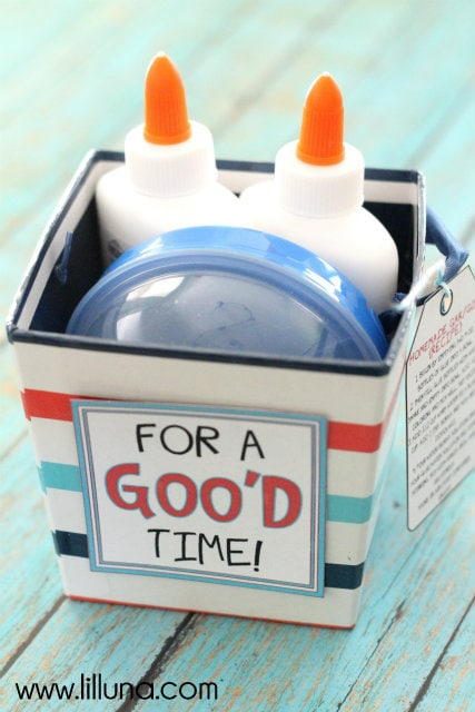 Gak Gift!! Very fun and inexpensive gift that kids will love!!
