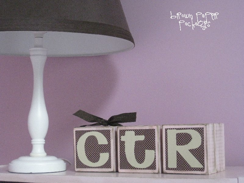 How to make these super cute CTR Blocks on { lilluna.com }. This would make a great gift!!