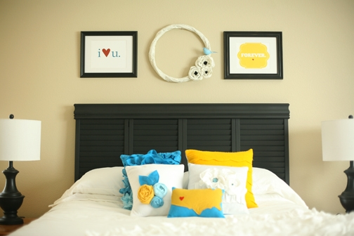 20 DIY Headboards to inspire you to create your own! All SO adorable and doable!! { lilluna.com }