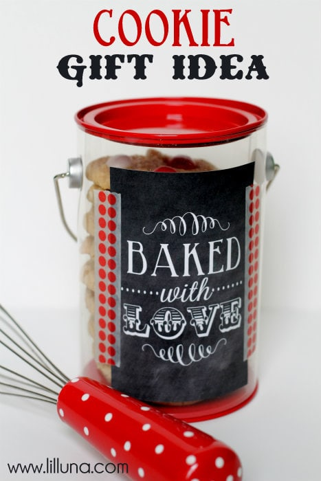 Cookie Gift Idea! So easy, just fill with yummy cookies and give to that special person!