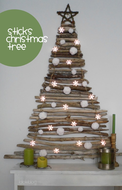 A beautiful collection of 30 Handmade Christmas Trees! Lots of great ideas to inspire you!