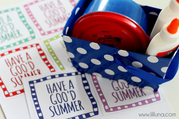 GOO'D Summer Gift Idea!! Very inexpensive to make & provides hours of entertainment for the kids!