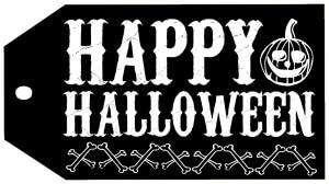 Halloween-HappyHalloweenTagBLACK