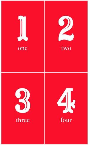 Number prints!