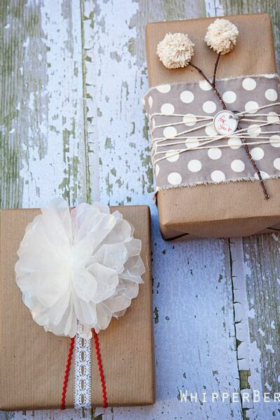20+ Pretty Packaging Ideas - so many cute ideas for packaging Christmas gifts!! { lilluna.com }