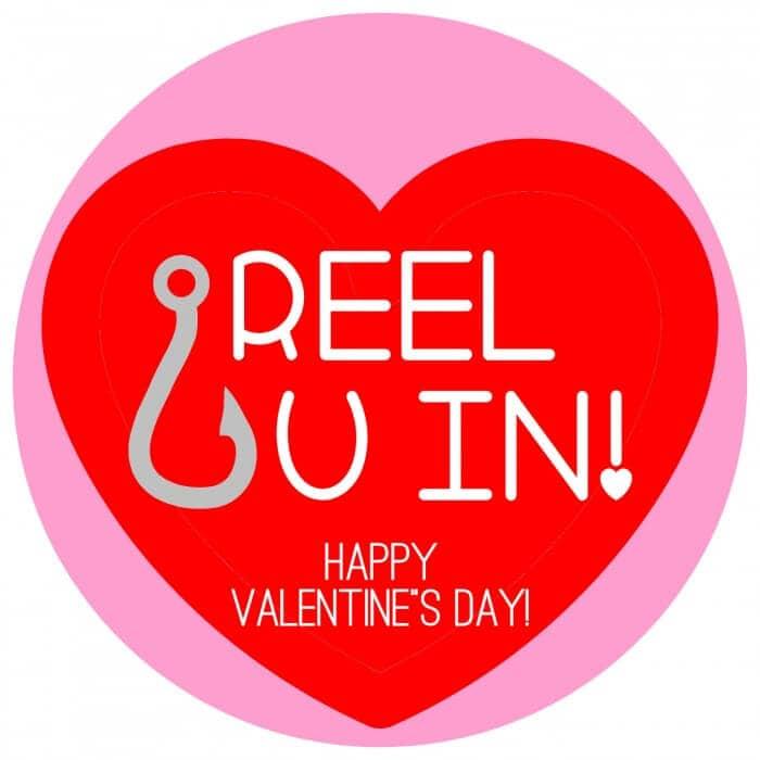 Valentines - Reel U In - ROUND