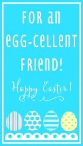 Egg-Cellent Friend-BLUE Print