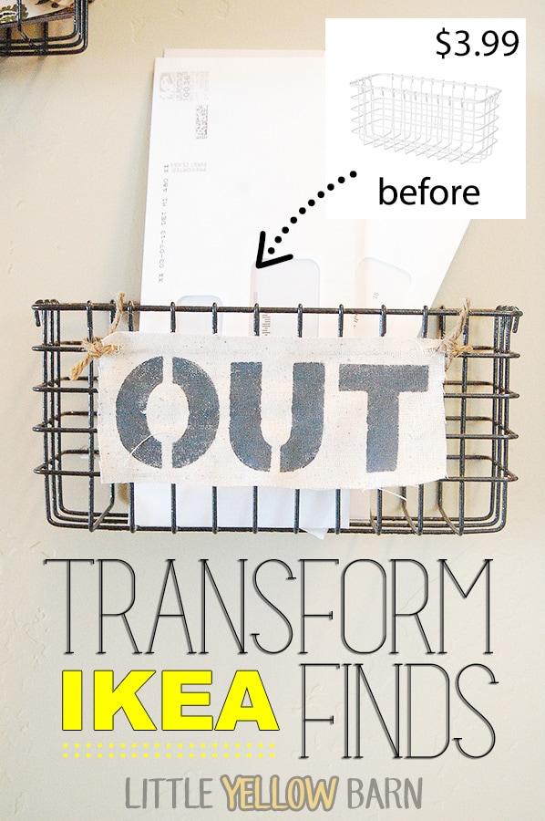 How to Customize IKEA finds { lilluna.com } SO CUTE! Great ideas!