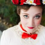 DIY Mary Popping Hat tutorial and adorable photo shoot! { lilluna.com }