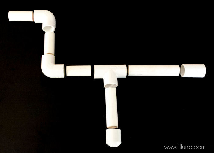 DIY Marshmallow Guns tutorial - the kids LOVE these! { lilluna.com } It's amazing how much fun some pvc & paint can be!!