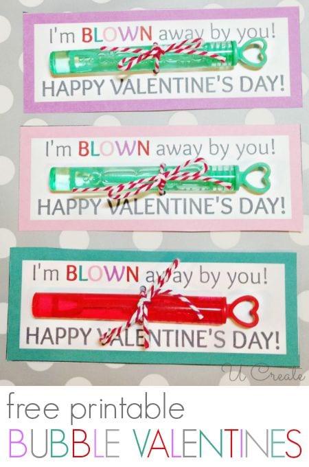25+ Non-Treat Valentines - a roundup of non-treat valentine's printables on { lilluna.com }