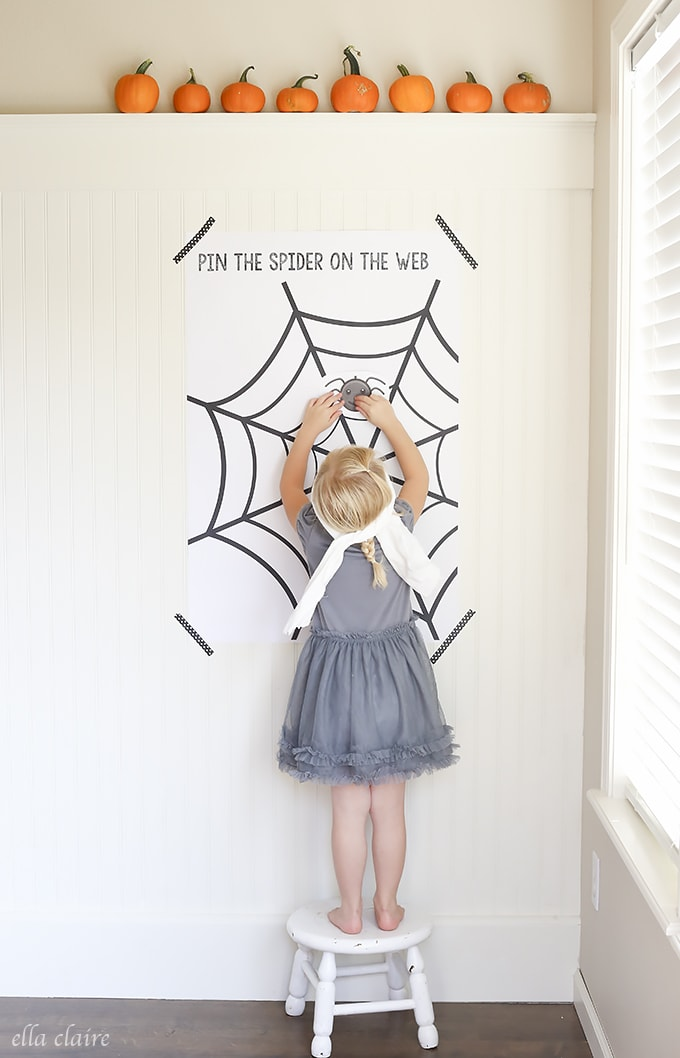 Pin the Spider on the Web by Ella Claire