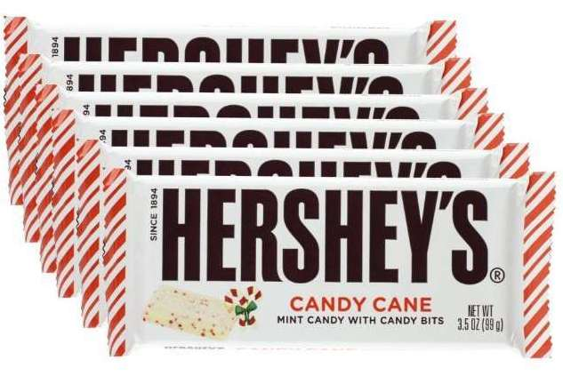 Hershey's Candy Cane Bars