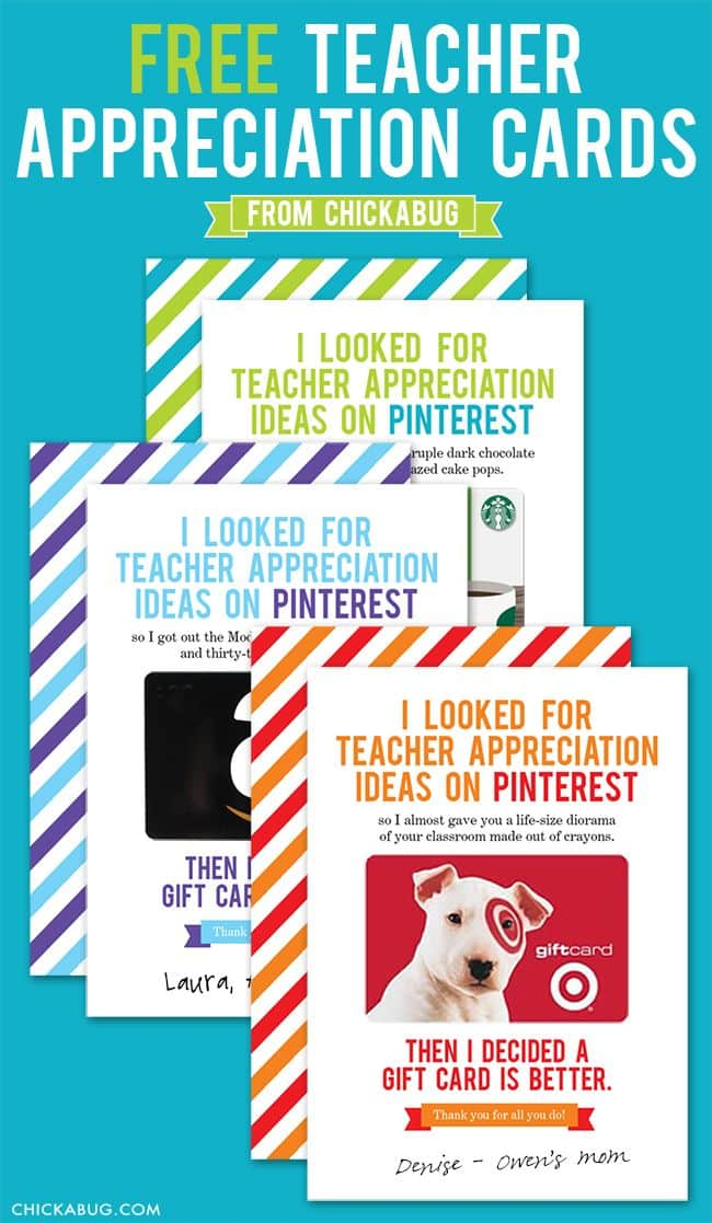50+ Must-See Teacher Appreciate Gift Ideas on { lilluna.com } Lots of cute and easy to make ideas!