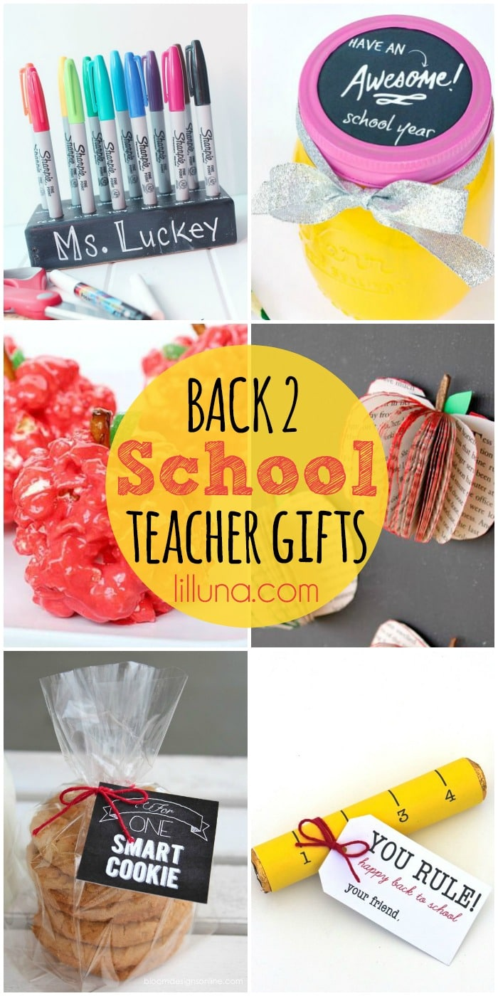 A Roundup of Back 2 School Teacher Gifts on { lilluna.com }