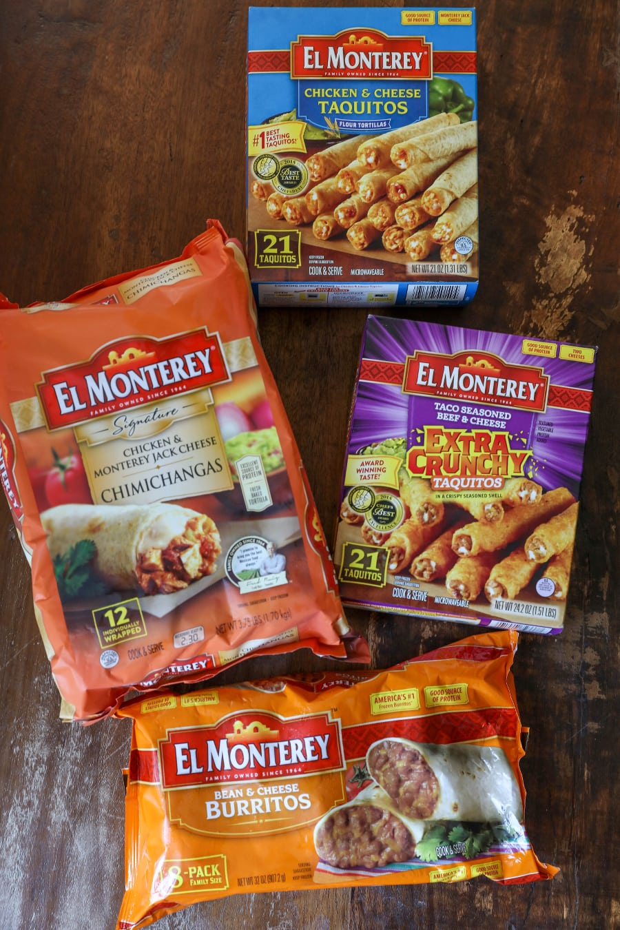 El Monterey Taquitos and Burritos - some of the kids' favorite after school snacks!
