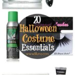 20 Halloween Costume Essentials - essential makeup and accessories for Halloween no matter what your costume is! See it on { lilluna.com }