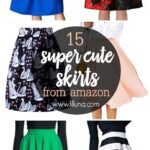 15 Super Cute Skirts from Amazon - a collection of our favorite skirts from Amazon. Really cute, high quality skirts for a REALLY reasonable price! These would be perfect for upcoming holiday parties!!