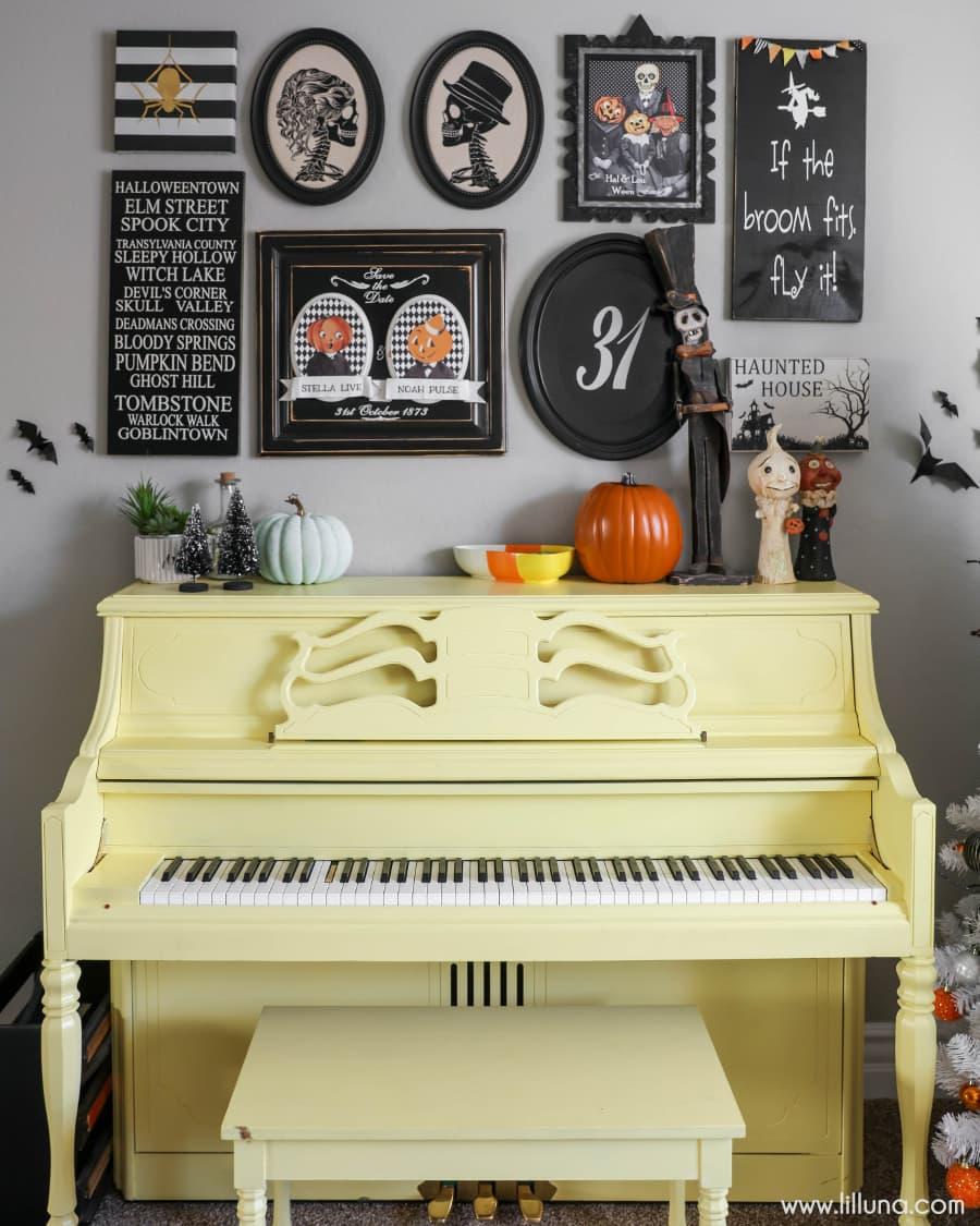 Halloween Gallery Wall