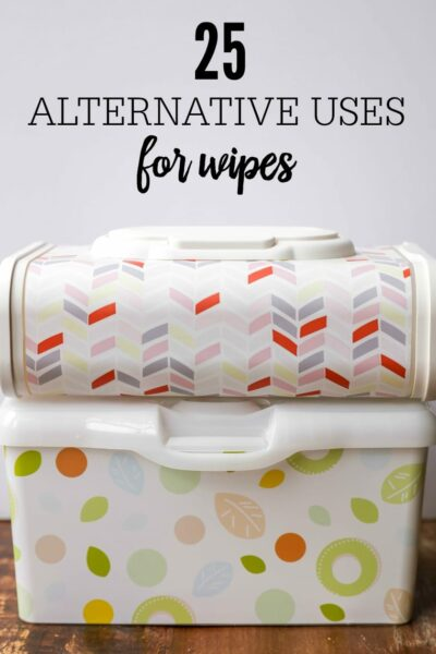 25 Alternative Uses for Wipes - a great list to show just how useful wipes can be, from washing off make-up to cleaning up the car! #ad