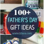 100+ Easy, cute and inexpensive Father's Day Gift Ideas! From food gifts to simple DIY gifts, dad is sure to love these thoughtful ideas.