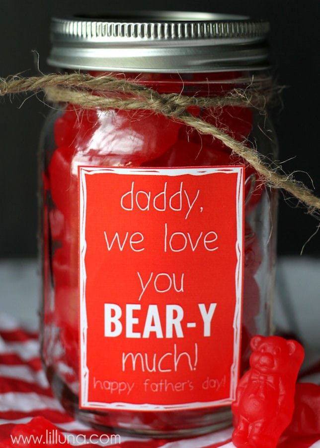 Love you BEAR-Y much Father's Day Gift Ideas