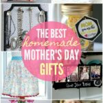 Homemade Mothers Day Gifts