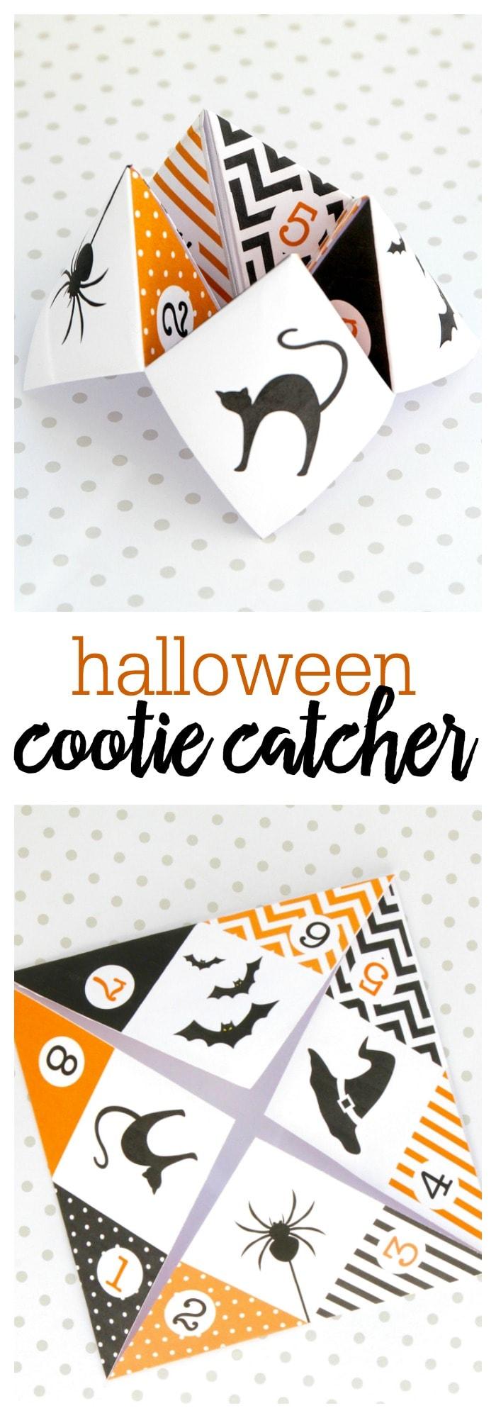 Halloween Cootie Catcher