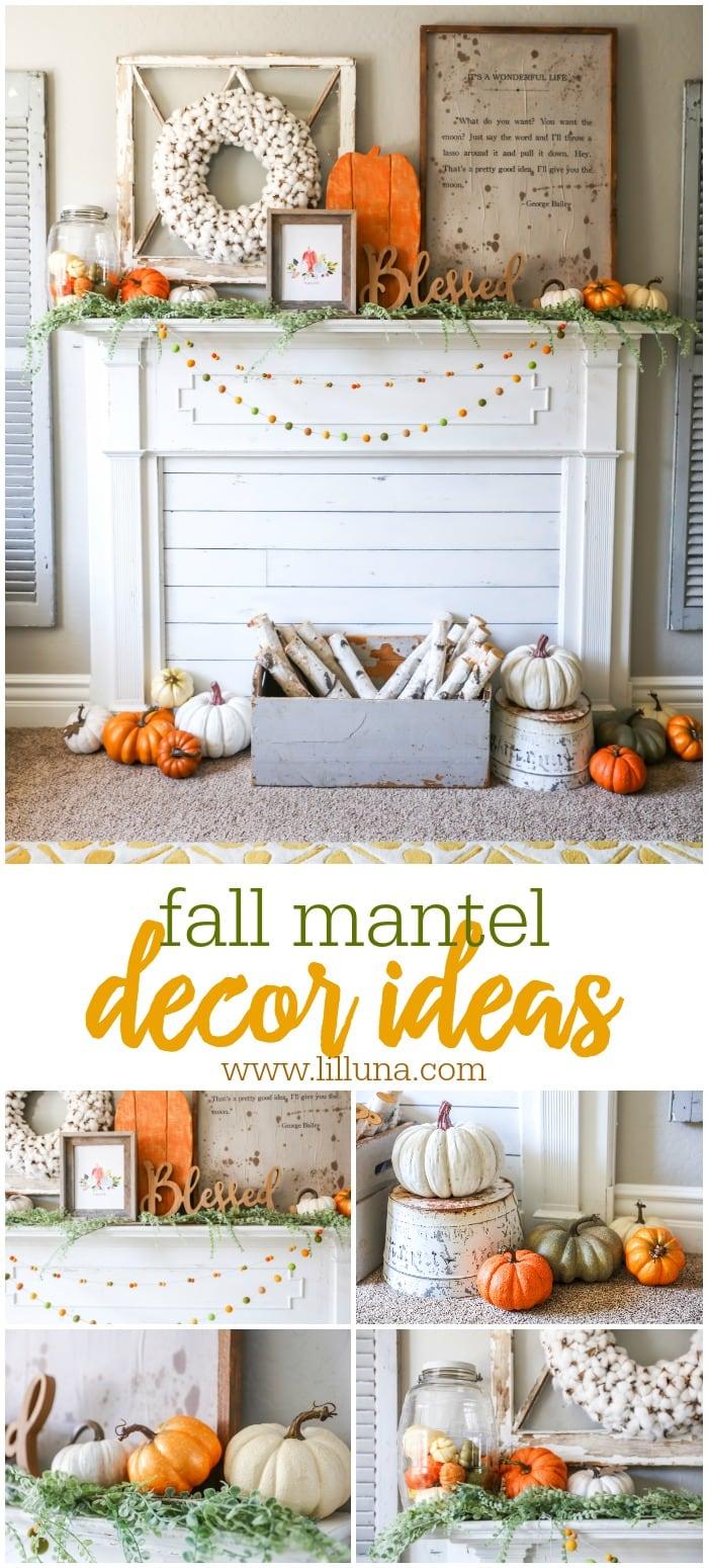 Mantel Decor Ideas