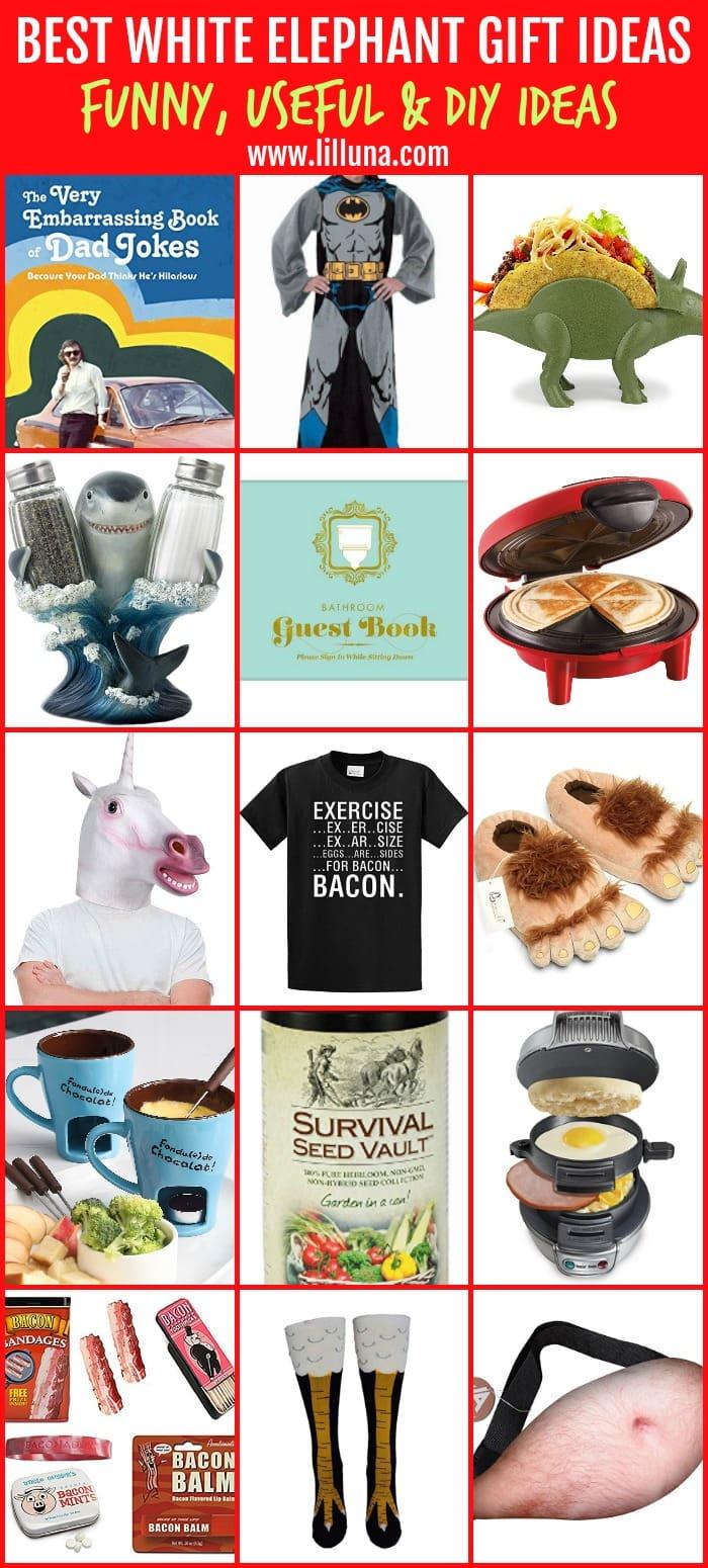 BEST White Elephant Gift Ideas