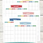 Blank Calendar Printable