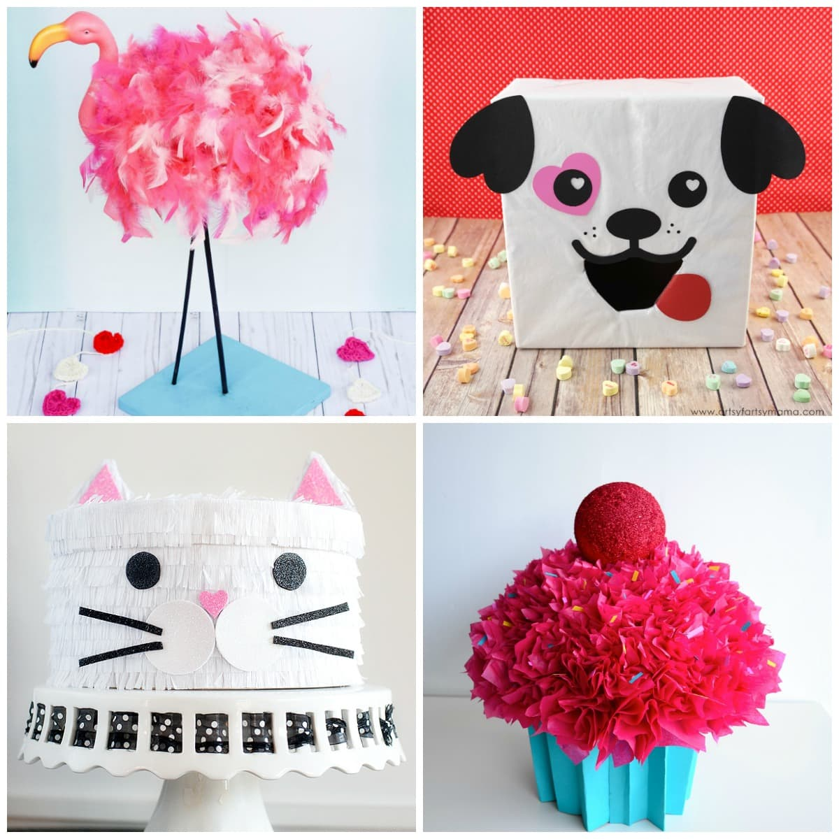 Girl Valentine Boxes