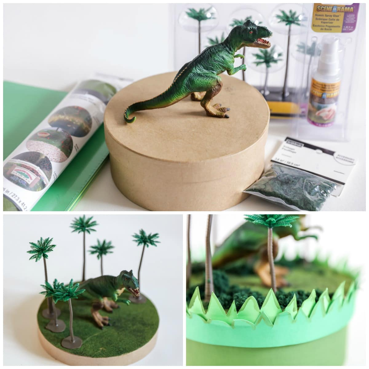How to Make Dinosaur Valentine Box