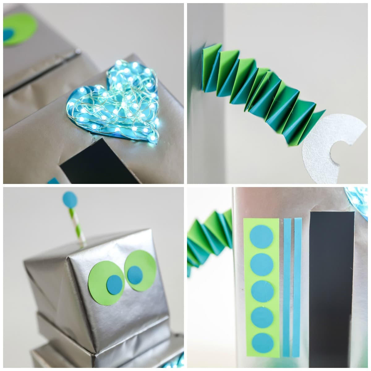 How to Make Robot Valentine Box
