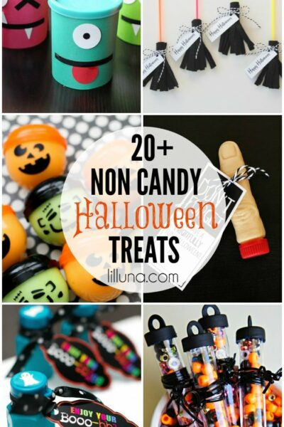 Non candy Halloween Treats to hand out