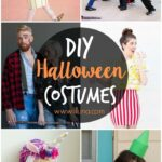A collection of DIY Halloween costumes